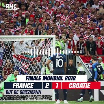 15 juillet 2018 : La France championne du monde pour la 2e fois, le goal replay RMC