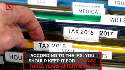 You Should Keep Tax Returns Longer Than You Think