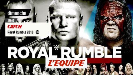 Royal Rumble 2018 , bande annonce - CATCH - WWE
