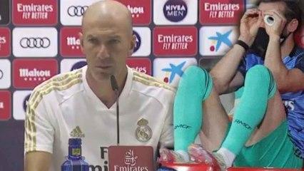 El gran enfado de Zidane cuando le preguntan si es bueno para el vestuario traspasar a Bale