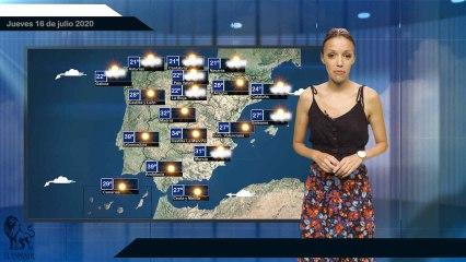 El pronóstico del tiempo para el 16 de julio.