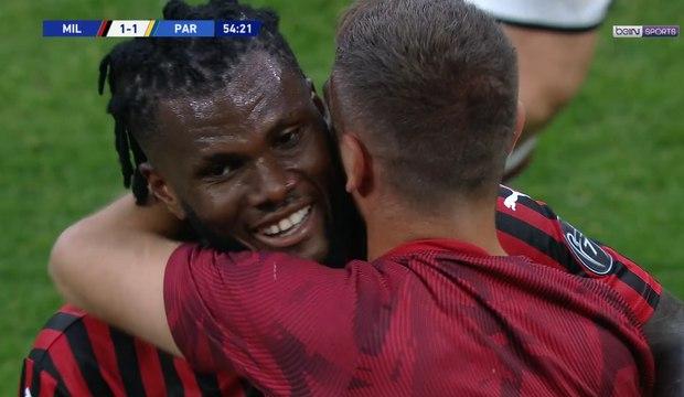 Franck Kessié relance l'AC Milan d'une belle frappe lointaine !