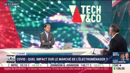 Matthieu Lanier (Samsung France) : L'impact du coronavirus sur le marché des biens techniques de la maison - 15/07
