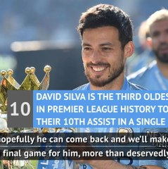 Pep content to let Silva sail out of City after stellar career