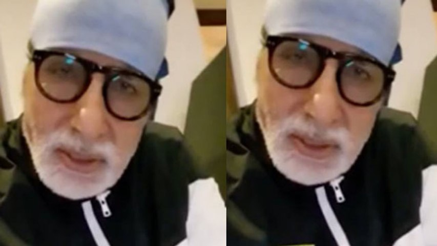 Amitabh Bachchan tweets from hospital, cautions fans against 6 'negative' traits