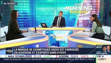 """La pépite : Saeve, une marque de cosmétiques fabriqués à base de sève de bouleau et de """" champignon de l'immortalité"""" par Lorraine Goumot - 16/07"""