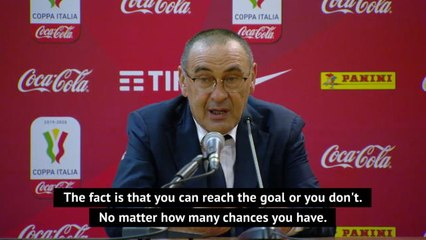 Juve 'hit the post' against Sassuolo in quest for title - Sarri