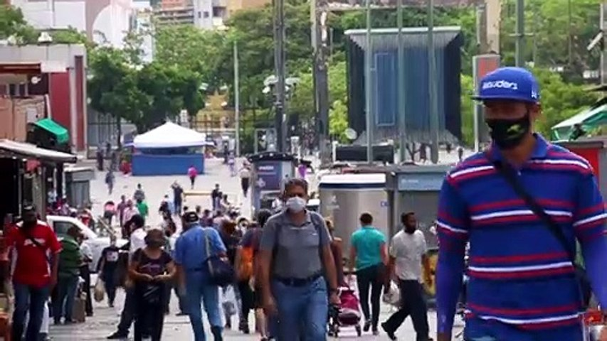 Tercera semana continua de cuarentena radical en Caracas