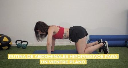 Rutina de hipopresivos para un vientre plano