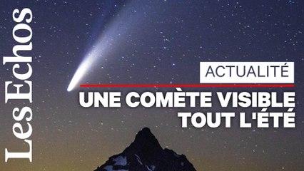 La comète Neowise continue son tour du monde