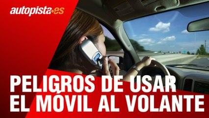 Móvil al volante: peligros y multas por usarlo