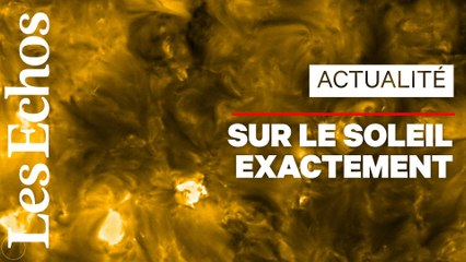 Des «feux de camp» sur le Soleil