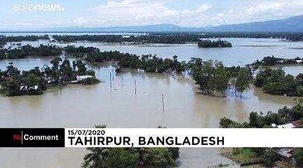 One-third of Bangladesh underwater due to flooding