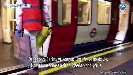 Banksy Londra Metrosunda