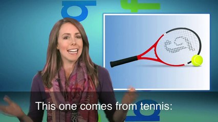 English in a Minute: The Ball Is In Your Court