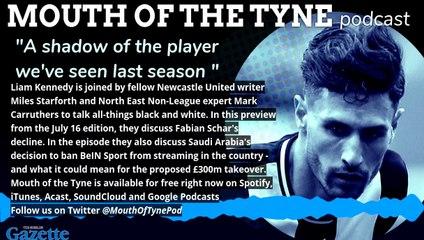 Mouth of the Tyne on Fabian Schar
