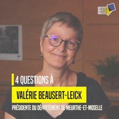 4 questions à Valérie Beausert-Leick, présidente du conseil départemental de Meurthe-et-Moselle