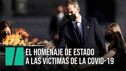 El homenaje de Estado a las víctimas de la Covid-19