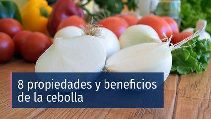 8 propiedades y beneficios de la cebolla