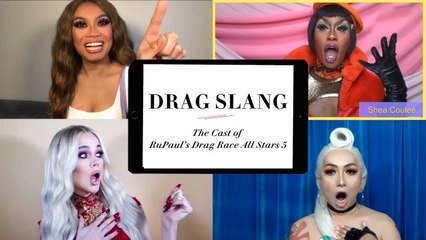 RuPaul's Drag Race All Stars 5 Cast Teaches You Drag Slang