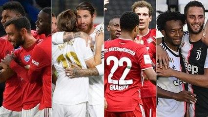 Os maiores campeões das principais ligas nacionais europeias
