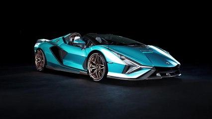 The Lamborghini Sian Roadster - Tech Presentation