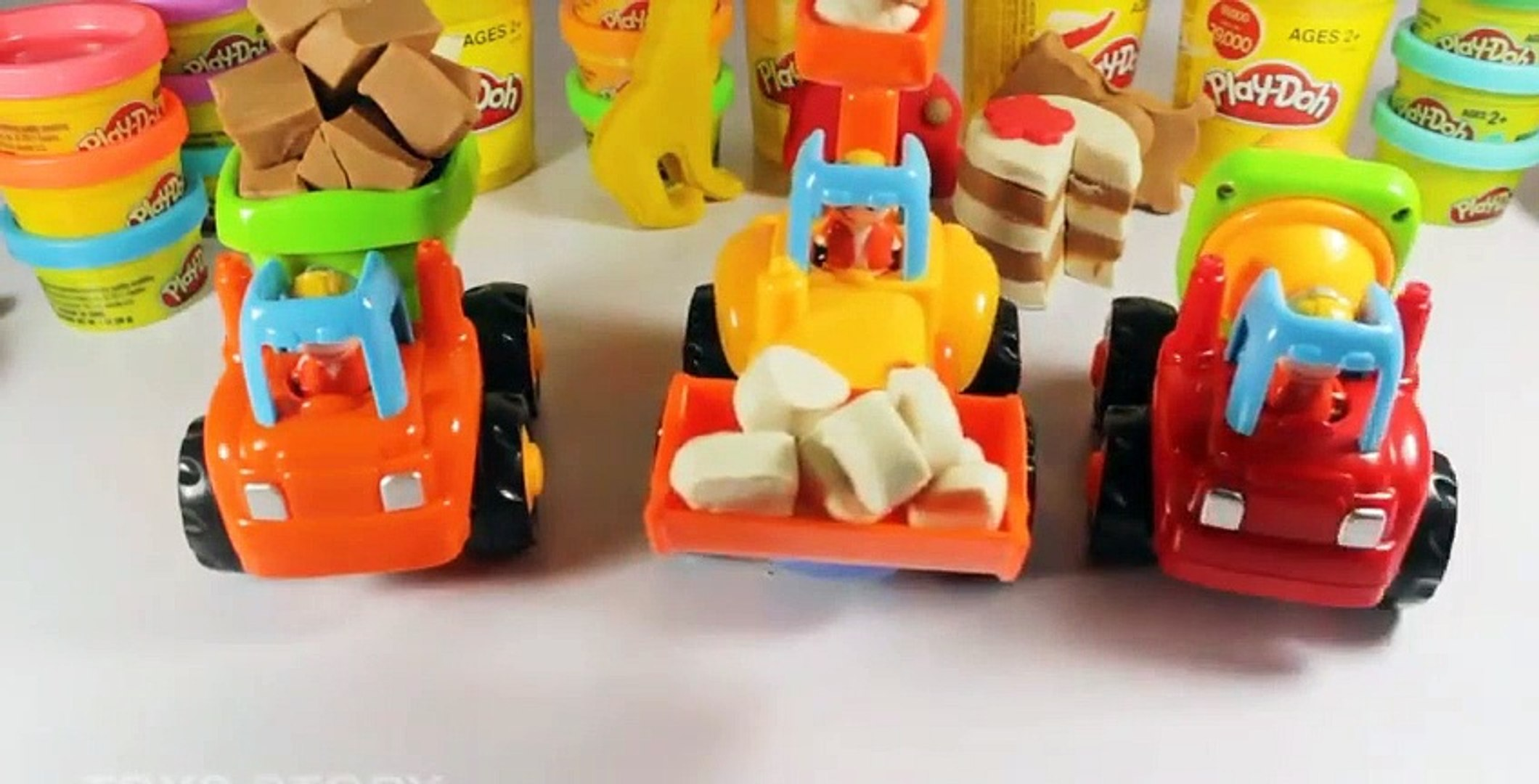 Play Cars Toy For Kids  How To Make Play Cake Video Play Doh -Kids -VIdeos NY