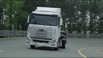 The new Hyundai XCIENT Fuel Cell