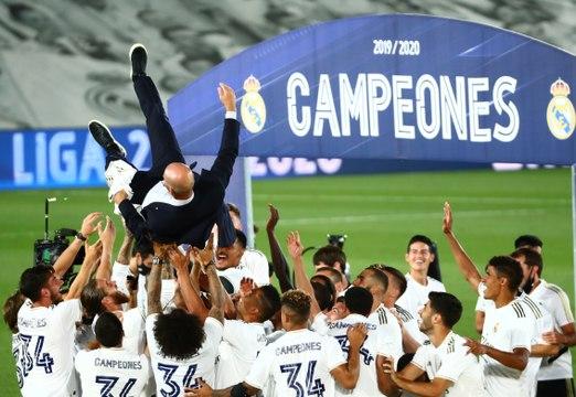 Comment le Real Madrid a été sacré champion d'Espagne devant le Barça - Foot - ESP