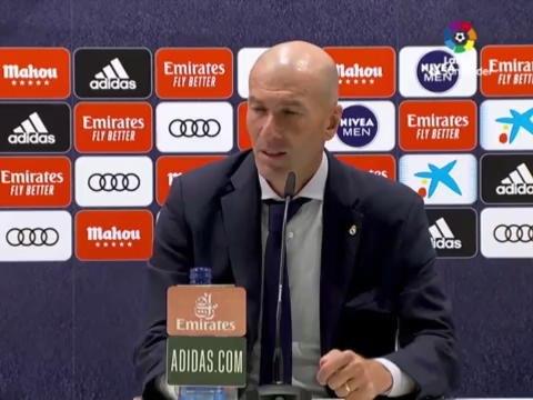 """37e j. - Zidane : ''Cette Liga a une saveur particulière"""""""