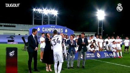 La Liga 2019-20 Şampiyonu Real Madrid!