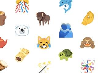 Matrjoschka, Biber, Pümpel: Google und Apple stellen neue Emojis vor