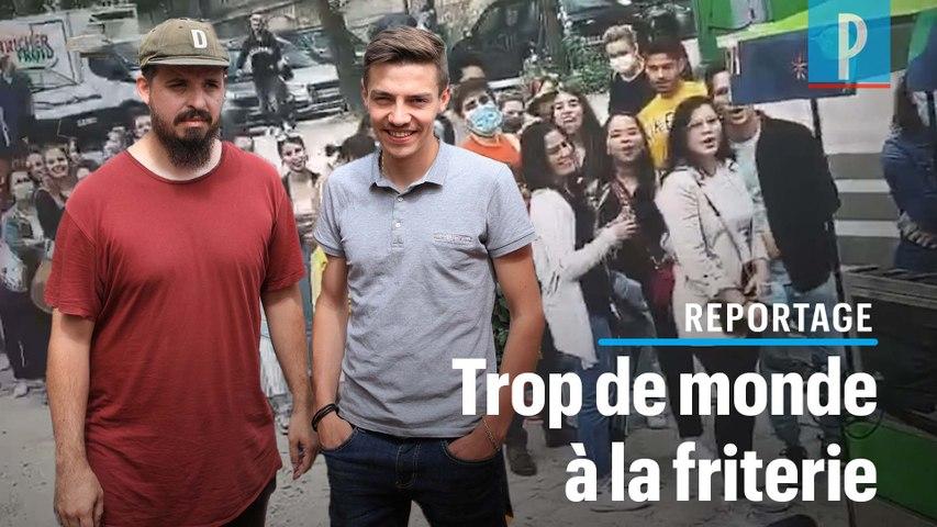 Top Chef : Adrien et Mallory dépassés par le succès de leur friterie éphémère