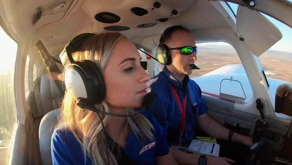 Wilson Sisters Train Together to Become Airline Pilots
