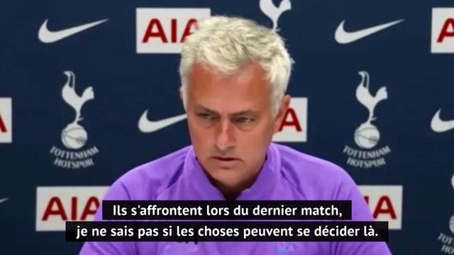 """37e j. - Mourinho pour rendre service à Manchester United : """"Je ne pense pas à leur duel avec Leicester"""""""
