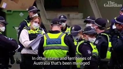 Why is Australia's second biggest city back in coronavirus lockdown? – video explainer
