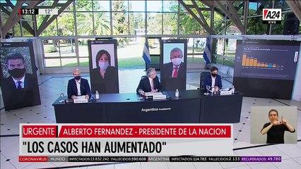 Alberto Fernández y la apertura escalonada hasta el 2 de agosto