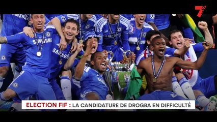 Election FIF : la candidature de Drogba en difficulté