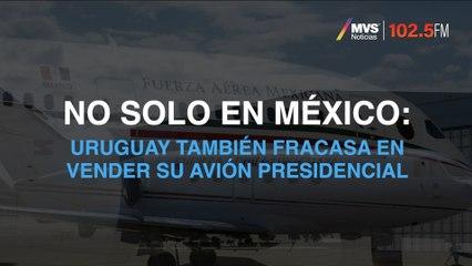 No solo en México: Uruguay también fracasa en vender su avión presidencial