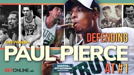 Should Paul Pierce go No. 1 in Boston Celtics All-Time Draft?
