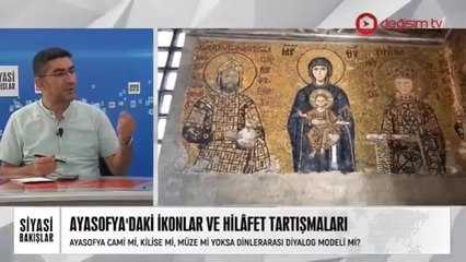 Ayasofya'daki Hristiyanlık İkonları ve Hilâfet Tartışmaları | Sosyal Medya Üzerinden Peygamber Efendimize Hakaret | Cumhurbaşkanı Erdoğan-Trump Görüşmesi
