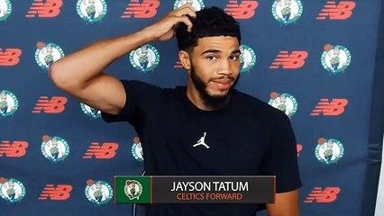 Jayson Tatum Friday Boston Celtics Press Conference FULL