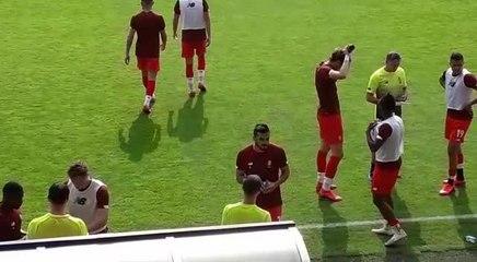 Standard - Malines en match amical