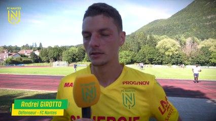 FC Nantes - Nyon : la réaction des joueurs