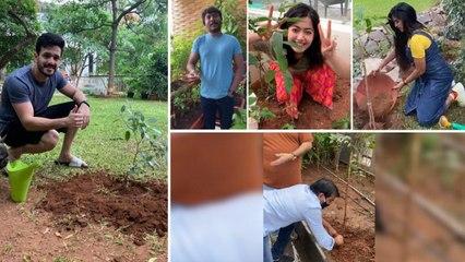 Green India Challenge : Tollywood Celebrities Actively Participating Green India Challenge