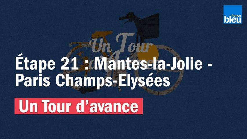 """VIDÉO - """"Un Tour d'avance"""" : Mantes-la-Jolie - Paris Champs-Elysées, la dernière étape du Tour comme si vous y étiez"""
