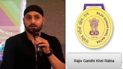 Harbhajan Singh Clarifies He's Not Eligible For Khel Ratna || Oneindia Telugu