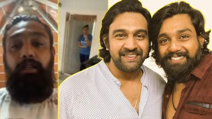 Dhurva Sarja First Live Video After Tested Positive