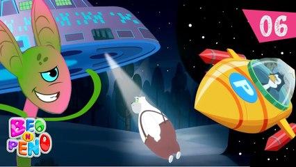 Beo n Peno - Space - Episode 6 - Cartoon for kids