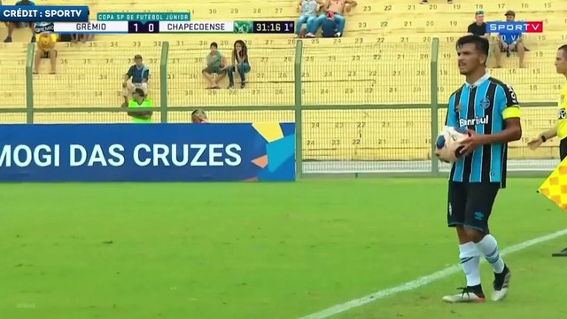 Diego Rosa, le milieu de terrain phénomène de Grêmio